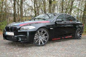 - NoName/Ebay - Inovit Revolve Felge in 10x20 ET 35 mit Pirelli  Reifen in 285/30/20 montiert hinten Hier auf einem 5er BMW F10 550i (Limousine) Details zum Fahrzeug / Besitzer