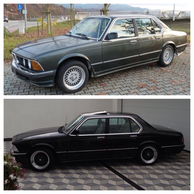 Neuaufbau E23 - Fotostories weiterer BMW Modelle