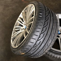 ROD RZ08 Felge in 10x19 ET 33 mit Hankook  Reifen in 265/30/19 montiert hinten Hier auf einem 3er BMW E93 318i (Cabrio) Details zum Fahrzeug / Besitzer