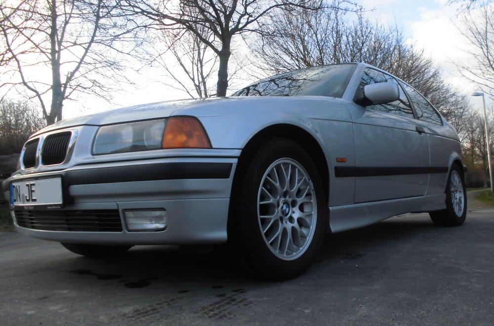 BMW E36 Compact Arctic Silver