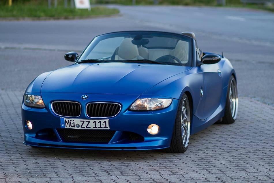 Z4 3.0i in Nachtblau Matt Metallic - BMW Z1, Z3, Z4, Z8