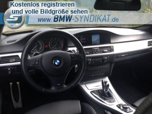 schwarz in schwarz 335i lci dkg 3er bmw e90 e91 e92 e93 coupe tuning fotos. Black Bedroom Furniture Sets. Home Design Ideas