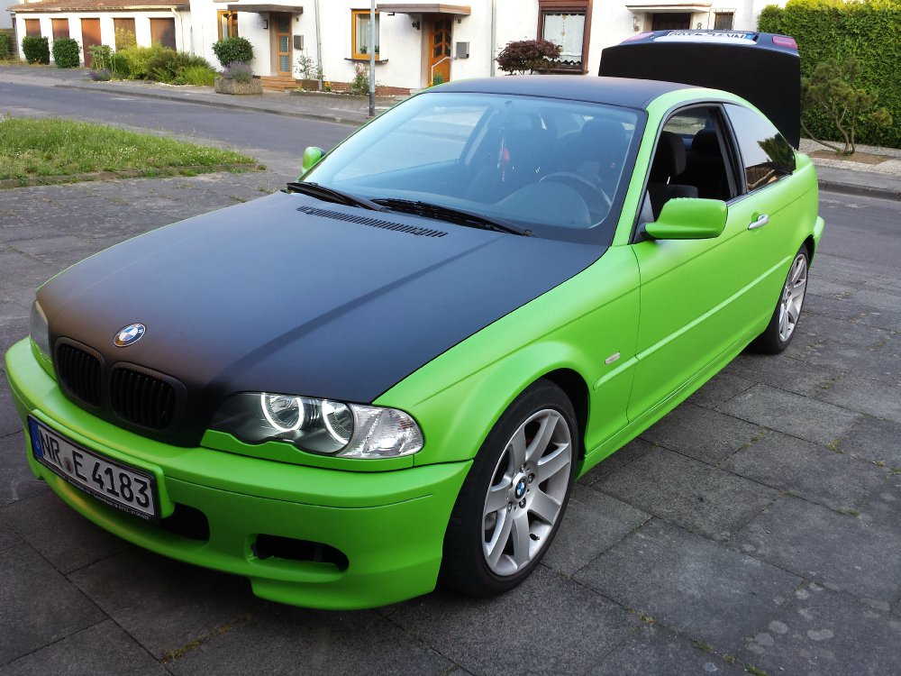 hulk b se 3er bmw e46 coupe tuning fotos bilder stories. Black Bedroom Furniture Sets. Home Design Ideas