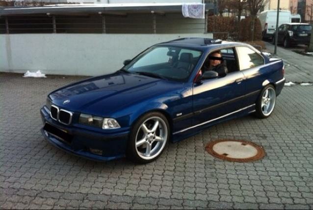 E36 328i Coupe Avusblau - 3er BMW - E36
