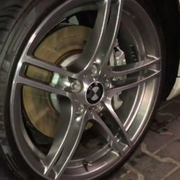 BMW M Performance 313 Performance Felge in 8x19 ET  mit Nankang  Reifen in 225/35/19 montiert vorn Hier auf einem 3er BMW E92 335i (Coupe) Details zum Fahrzeug / Besitzer
