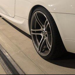 BMW M Performance 313 Performance Felge in 9x19 ET  mit Nankang  Reifen in 255/30/19 montiert hinten Hier auf einem 3er BMW E92 335i (Coupe) Details zum Fahrzeug / Besitzer