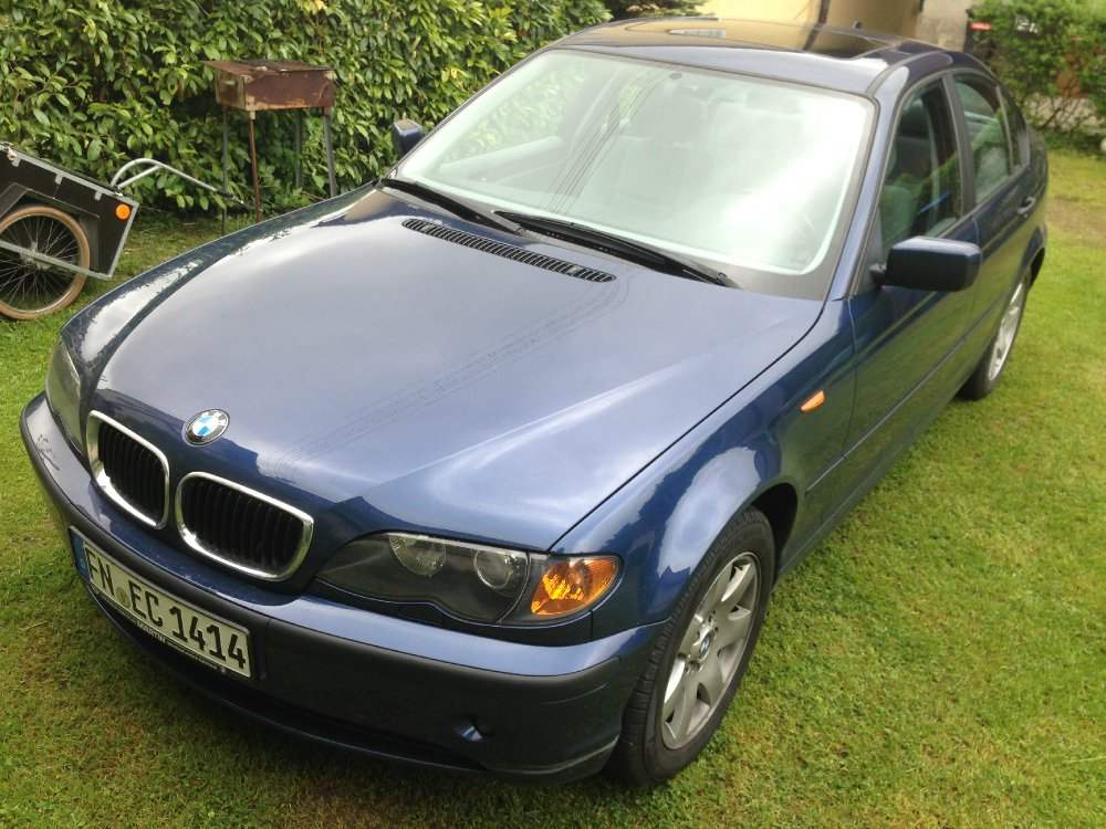bmw 320d mystic blue 3er bmw e46 limousine. Black Bedroom Furniture Sets. Home Design Ideas