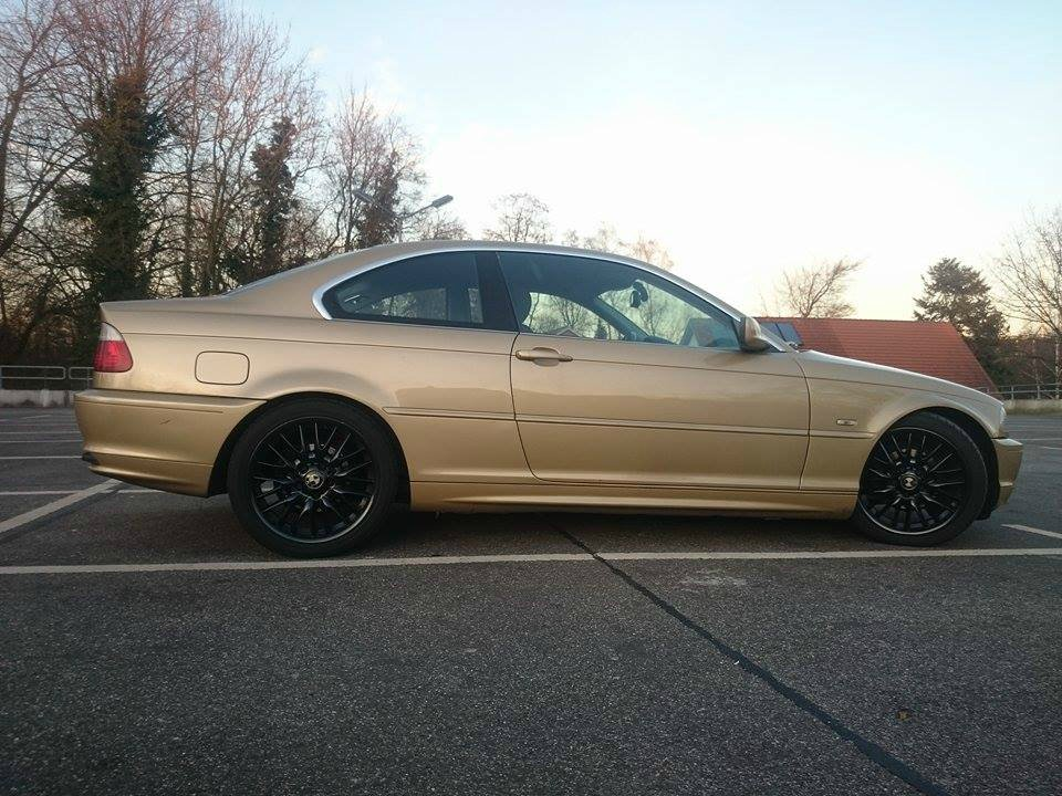 e46 coupe gold 3er bmw e46 coupe tuning fotos. Black Bedroom Furniture Sets. Home Design Ideas