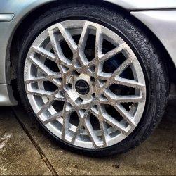 ASA Felgen Tec GT4 Felge in 8.5x18 ET 35 mit - Eigenbau - Achilles Supersport Reifen in 225/40/18 montiert hinten und mit folgenden Nacharbeiten am Radlauf: Kanten gebördelt Hier auf einem 3er BMW E46 320i (Coupe) Details zum Fahrzeug / Besitzer