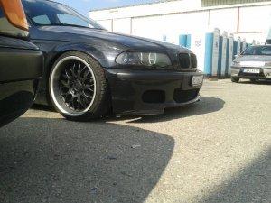 - NoName/Ebay -  Felge in 9.5x18 ET 20 mit - NoName/Ebay - Star Performance Reifen in 215/30/18 montiert vorn mit folgenden Nacharbeiten am Radlauf: Kanten gebördelt Hier auf einem 3er BMW E46 328i (Limousine) Details zum Fahrzeug / Besitzer