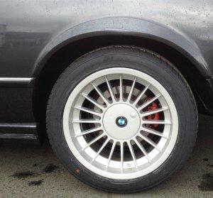 Alpina  Felge in 9.5x17 ET 24 mit Dunlop  Reifen in 265/40/17 montiert hinten Hier auf einem 6er BMW E24 M635CSi (Coupe) Details zum Fahrzeug / Besitzer