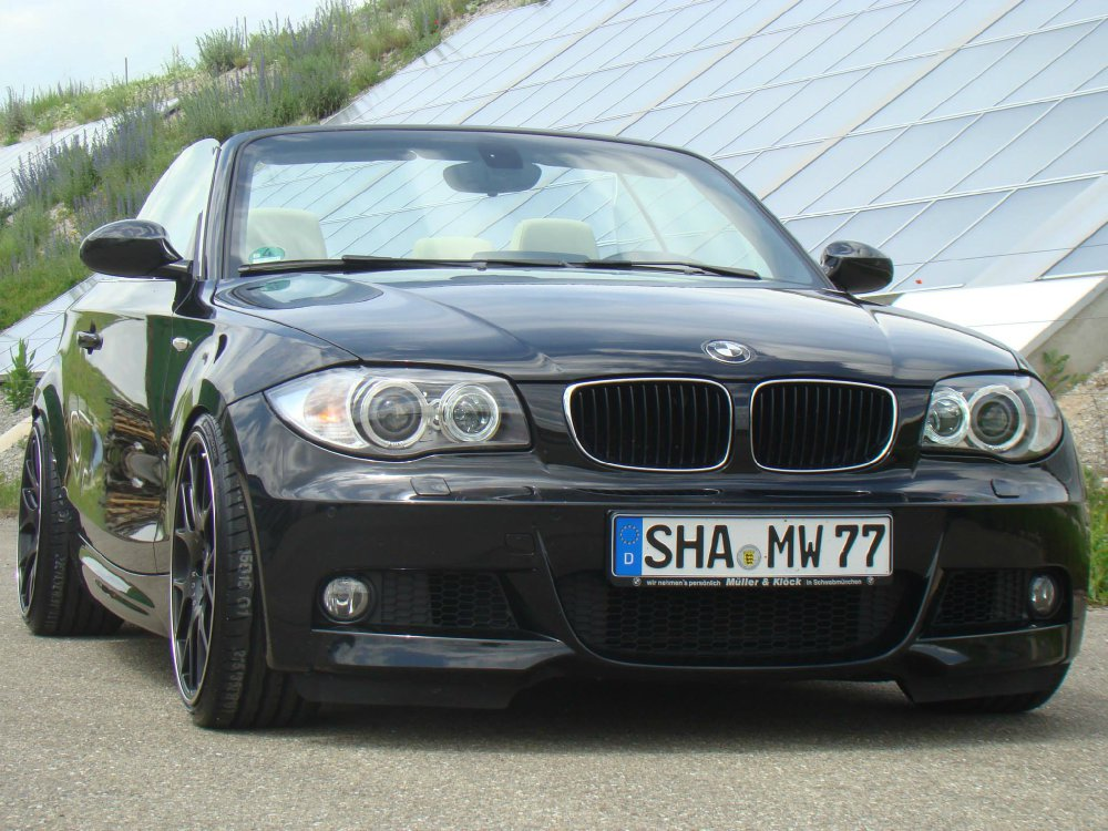 125i Cabrio With Bbs Ch R And Kw V1 1er Bmw E81 E82
