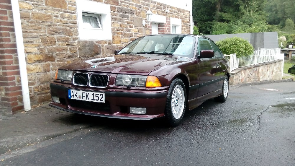 "e36 318is ""Red Baron"" Original look - 3er BMW - E36"