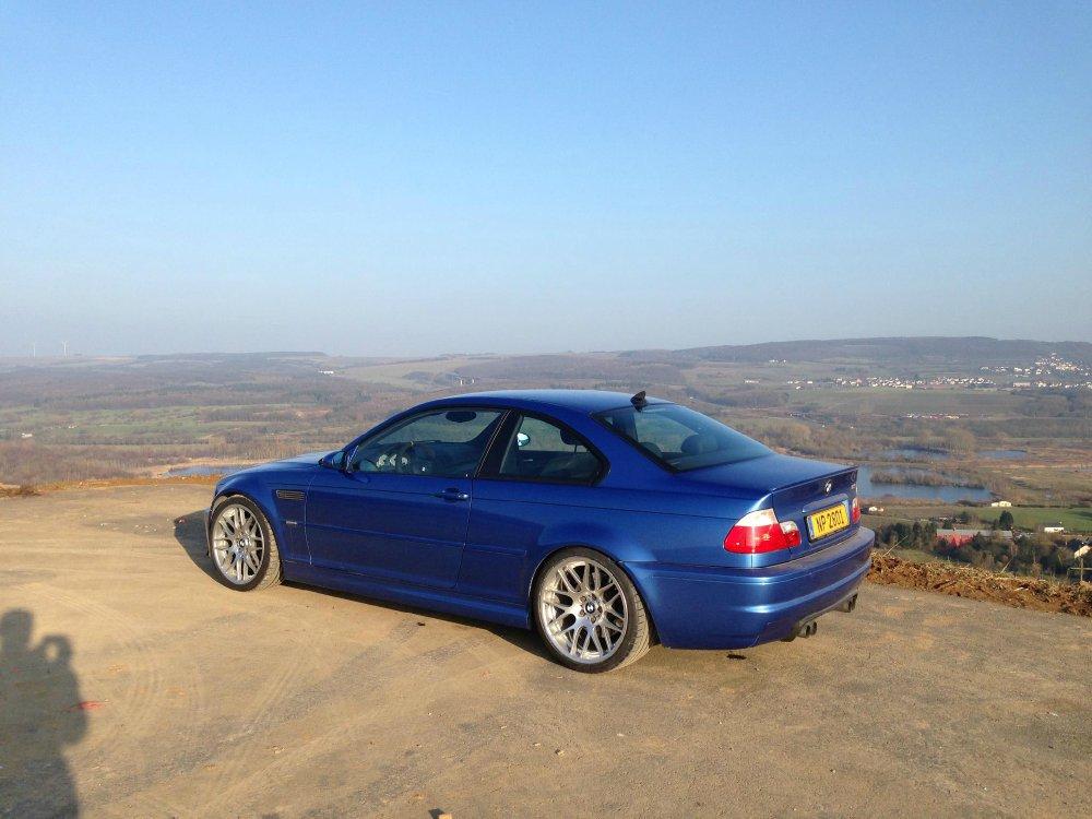 M3 E46 Estorilblau 3er Bmw E46 M3 Tuning Fotos Bilder