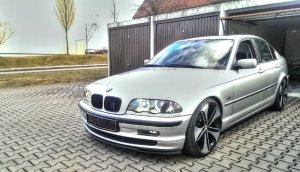 - NoName/Ebay - Carmani CA7 Felge in 8.5x19 ET 35 mit Nankang NS2 Sport Reifen in 225/35/19 montiert vorn Hier auf einem 3er BMW E46 320i (Limousine) Details zum Fahrzeug / Besitzer