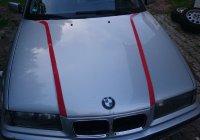 - Eigenbau - Motorhaube Streifen lackiert