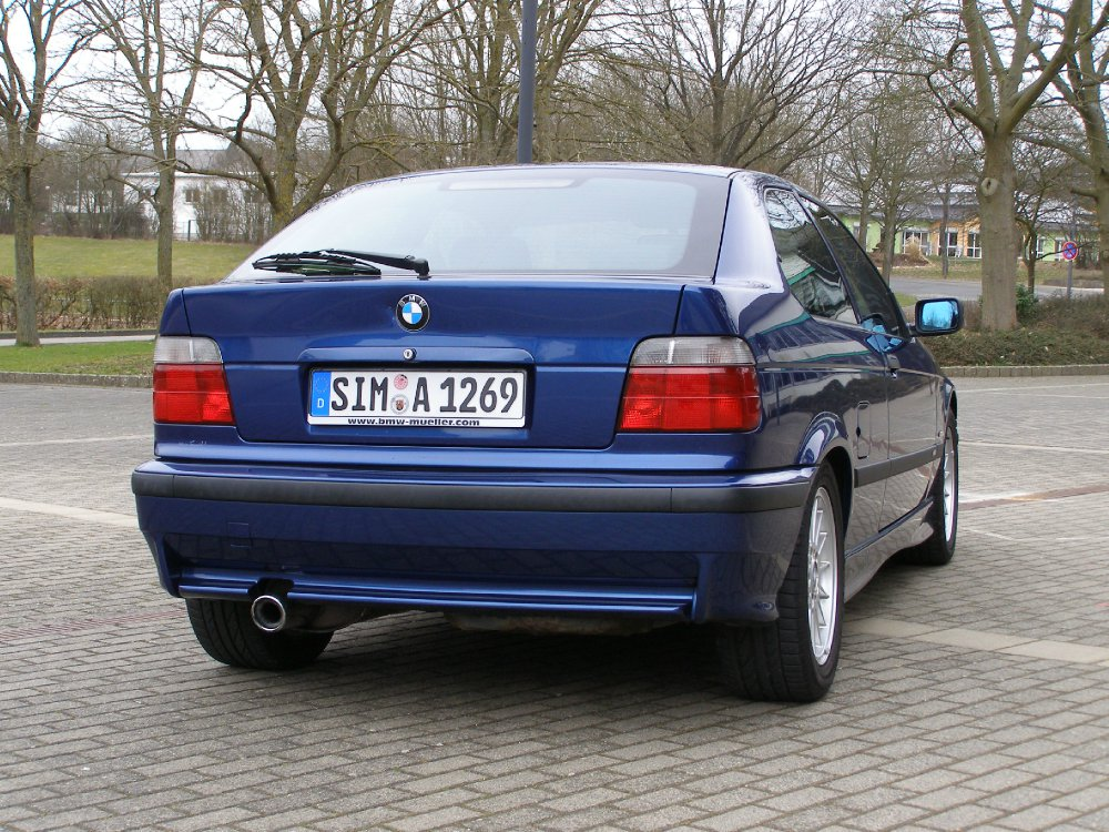 bmw 316i m paket 3er bmw e36 compact tuning fotos bilder stories. Black Bedroom Furniture Sets. Home Design Ideas