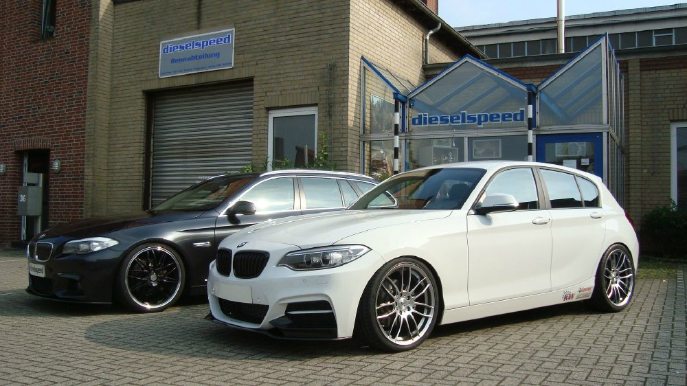 125d mit m235i front 1er bmw f20 f21 5 t rer. Black Bedroom Furniture Sets. Home Design Ideas