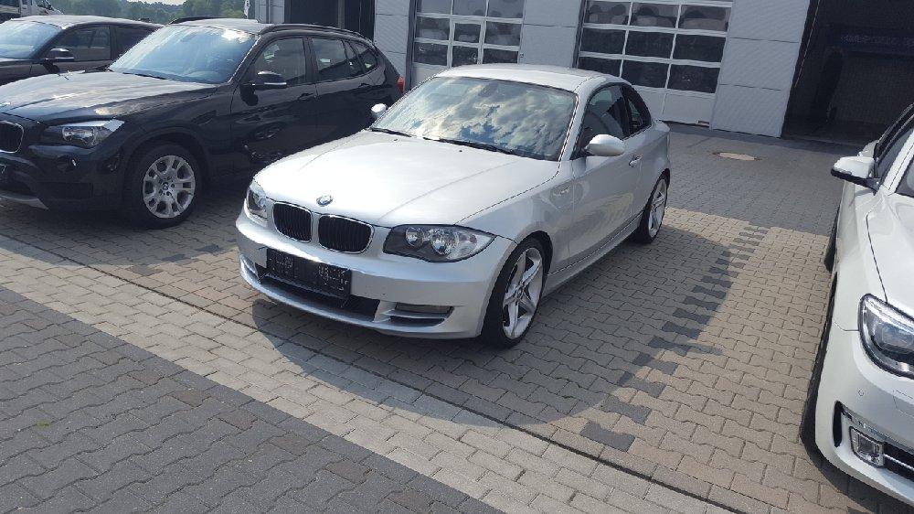 BMW 120d Coupé Titansilber - 1er BMW - E81 / E82 / E87 / E88