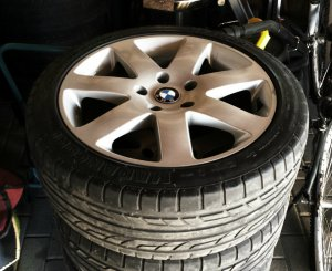 Autec Typ 757 Felge in 7.5x17 ET 40 mit marangoni  Reifen in 215/45/17 montiert vorn Hier auf einem 3er BMW E36 316i (Compact) Details zum Fahrzeug / Besitzer