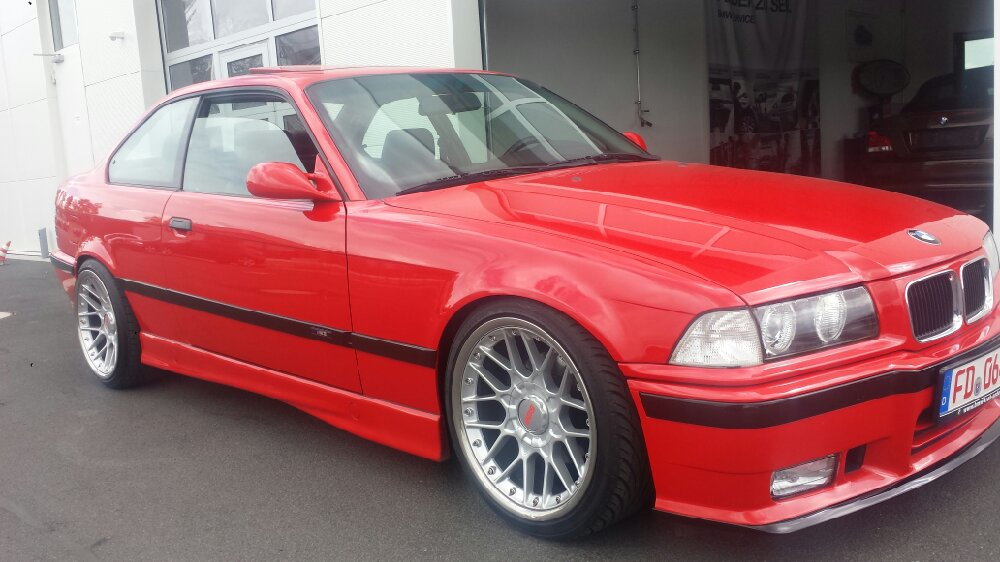 E36 325i Coupe Bbs Rs2 18 Zoll 3er Bmw E36 Coupe Tuning