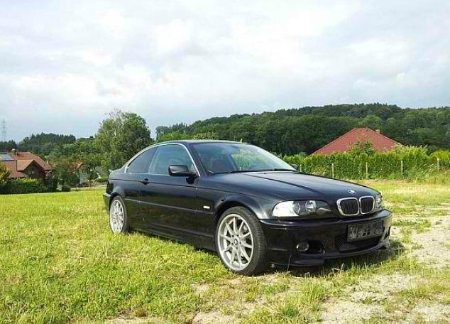 e46 325i coup mit smg 3er bmw e46 coupe tuning. Black Bedroom Furniture Sets. Home Design Ideas