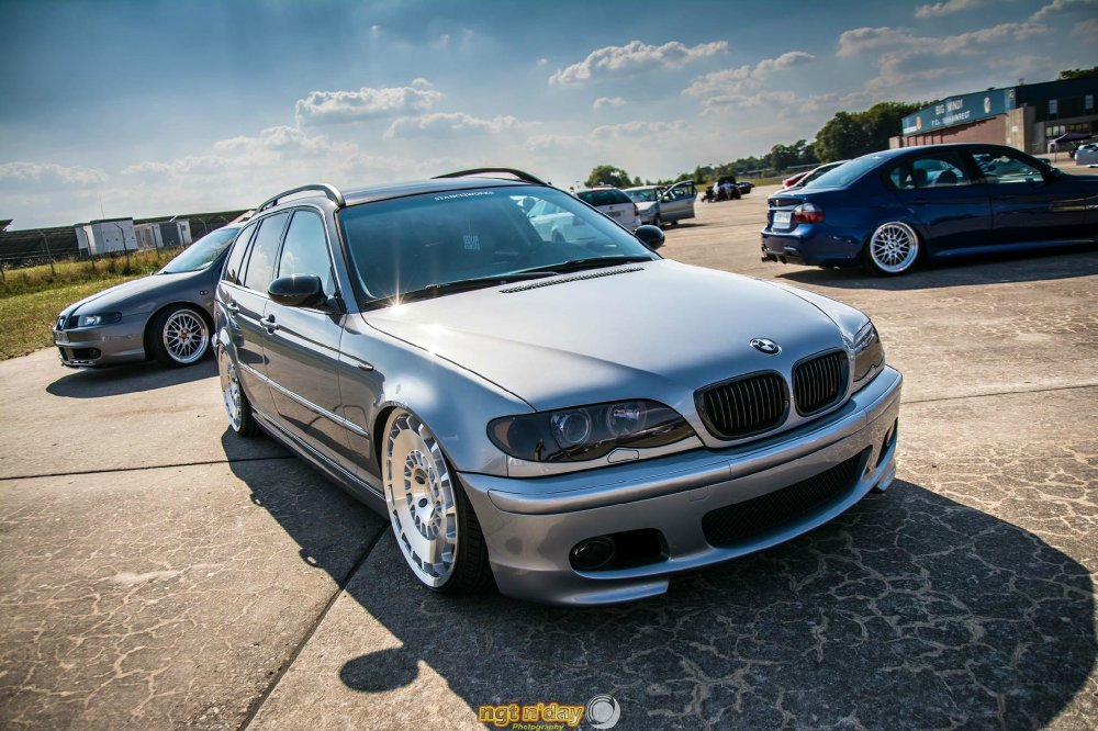 "Built not Bought is back on 20"" Rotiform Wheels - 3er BMW - E46"