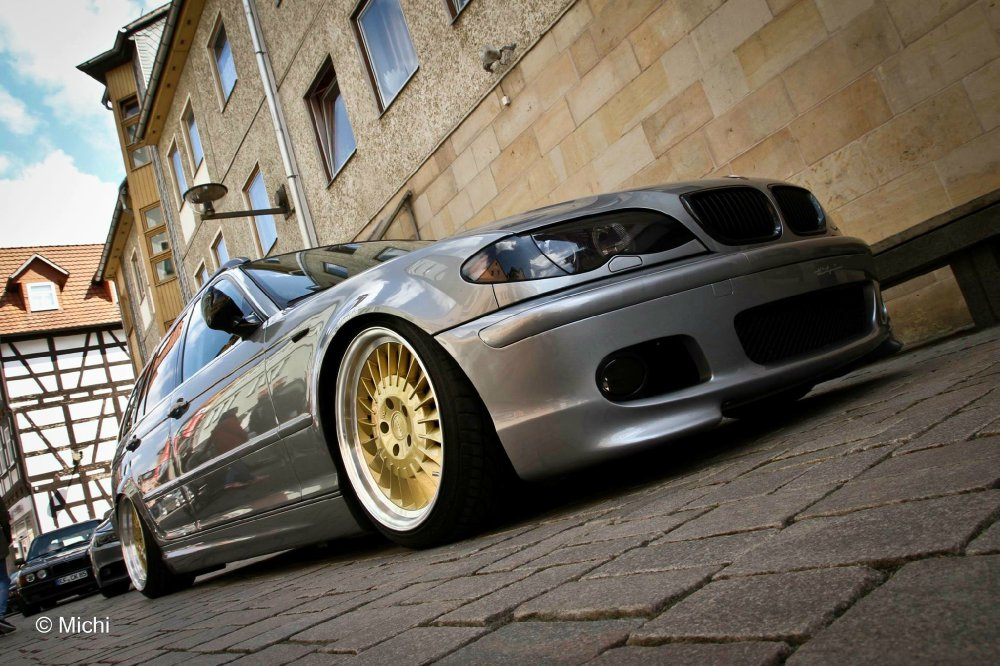 Static e46 Touring mit ordentlich Tiefgang - 3er BMW - E46