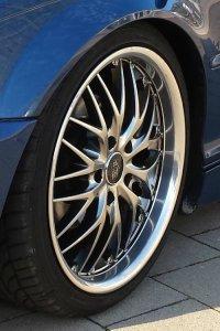 Barracuda Voltec T6 Felge in 8x18 ET 38 mit Dunlop Sp9000 Reifen in 215/40/18 montiert vorn mit 10 mm Spurplatten Hier auf einem 3er BMW E46 320i (Coupe) Details zum Fahrzeug / Besitzer