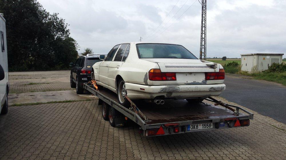 BLACK 7 - E32 730i V8 - Fotostories weiterer BMW Modelle