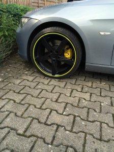 AEZ Lascar Felge in 8.5x19 ET 20 mit Fulda  Reifen in 225/35/19 montiert vorn Hier auf einem 3er BMW E92 325i (Coupe) Details zum Fahrzeug / Besitzer