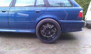 Proline (PLW) PXI Felge in 8.5x18 ET 10 mit Bridgestone  Reifen in 225/40/18 montiert hinten Hier auf einem 5er BMW E39 530d (Touring) Details zum Fahrzeug / Besitzer