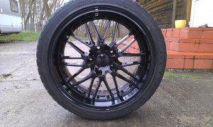 Proline (PLW) PXI Felge in 8.5x18 ET 10 mit Bridgestone  Reifen in 225/40/18 montiert vorn Hier auf einem 5er BMW E39 530d (Touring) Details zum Fahrzeug / Besitzer