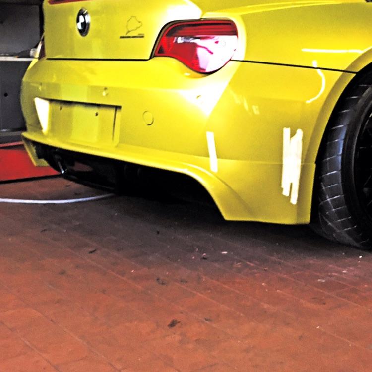 Bmw Z4 Coupe Tuning: Z4 Coupé Phönixgelb [ BMW Z1, Z3, Z4, Z8 ] (Storyseite 2