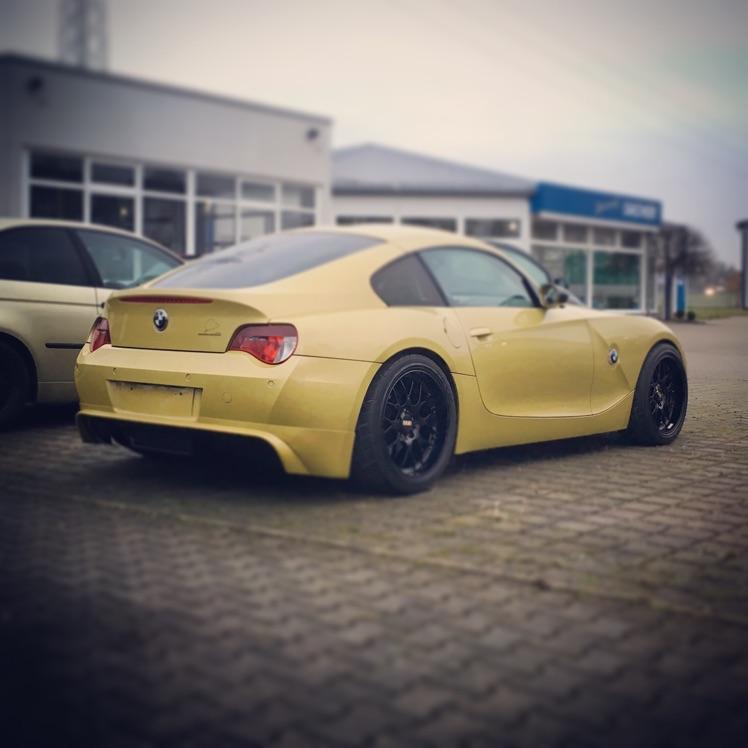 """Bmw Z4 3 0si: Z4 Coupé Phönixgelb [ BMW Z1, Z3, Z4, Z8 ] """"Z4 Coupe"""