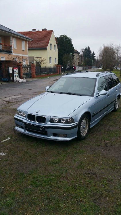 E36 Ex 320 Touring Perlmutt-Weiß - 3er BMW - E36