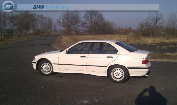 E36 320i Limo in Weiß - es beginnt... - 3er BMW - E36
