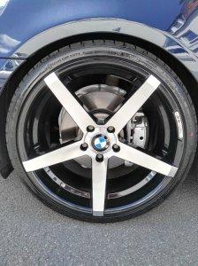 Z-Performance 6.0 Felge in 9x20 ET 35 mit Falken  Reifen in 245/30/20 montiert hinten mit 18 mm Spurplatten Hier auf einem 5er BMW E60 530d (Limousine) Details zum Fahrzeug / Besitzer