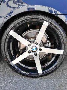 Z-Performance 6.0 Felge in 9x20 ET 35 mit Falken  Reifen in 245/30/20 montiert vorn mit 18 mm Spurplatten Hier auf einem 5er BMW E60 530d (Limousine) Details zum Fahrzeug / Besitzer