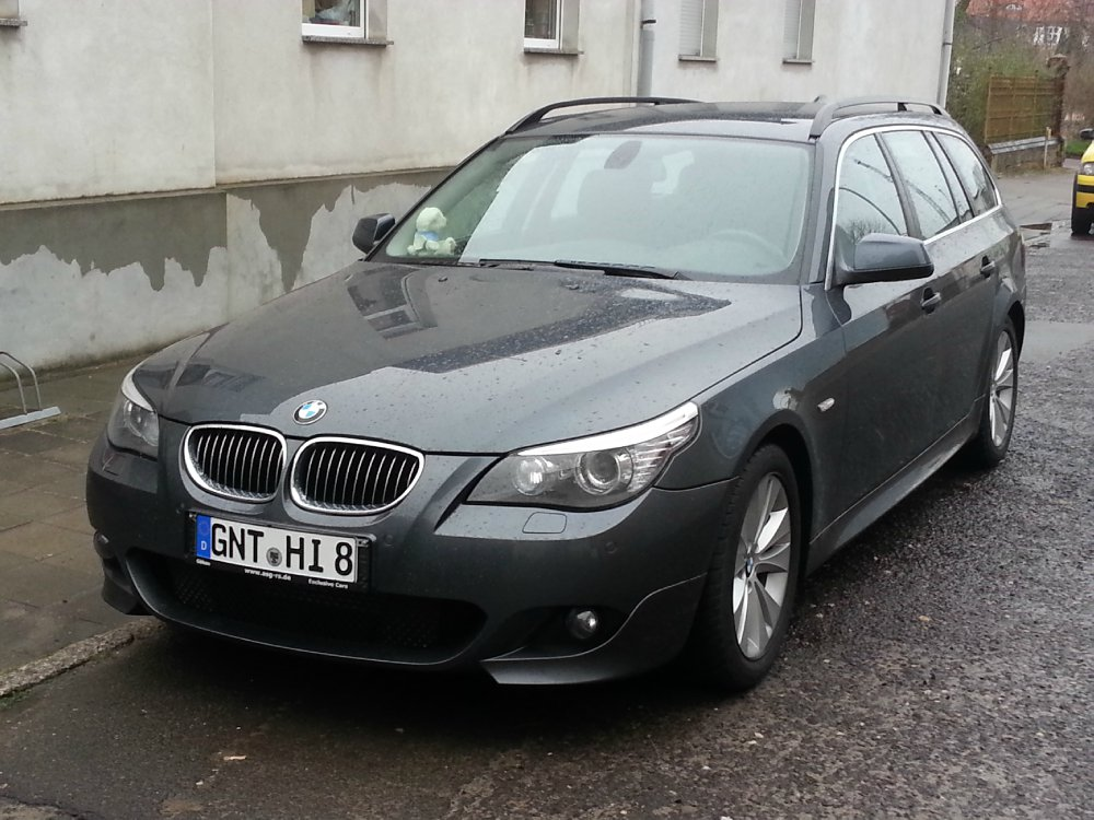 bmw 525d lci mein neues baby 5er bmw e60 e61 touring tuning fotos bilder. Black Bedroom Furniture Sets. Home Design Ideas