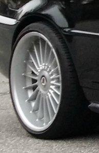 Alpina Classic II Felge in 9.5x19 ET 36 mit Pirelli  Reifen in 255/30/19 montiert hinten Hier auf einem 3er BMW E46 318i (Cabrio) Details zum Fahrzeug / Besitzer