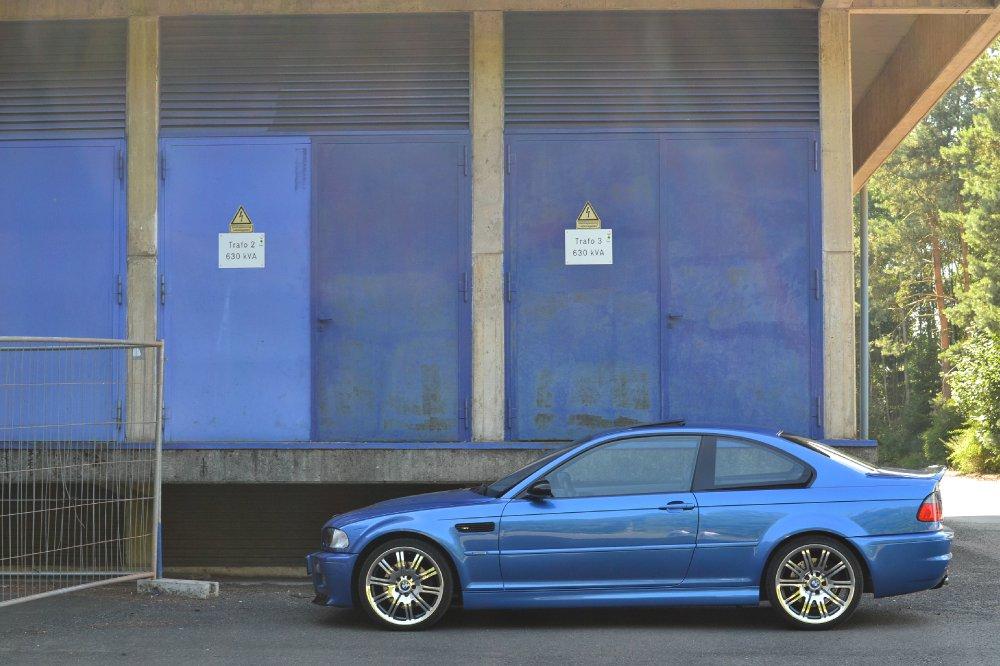M3 Estoril Blau 3er Bmw E46 M3 Tuning Fotos Bilder