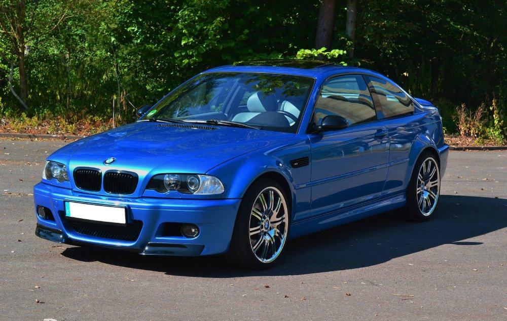 M3 Estoril Blau 3er Bmw E46 Quot M3 Quot Tuning