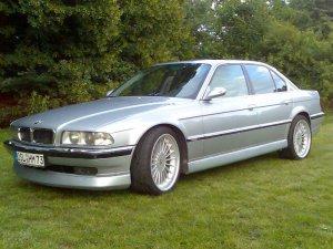 Alpina  Felge in 10x20 ET  mit Dunlop  Reifen in 275/35/20 montiert hinten mit 40 mm Spurplatten Hier auf einem 7er BMW E38 740i (Limousine) Details zum Fahrzeug / Besitzer