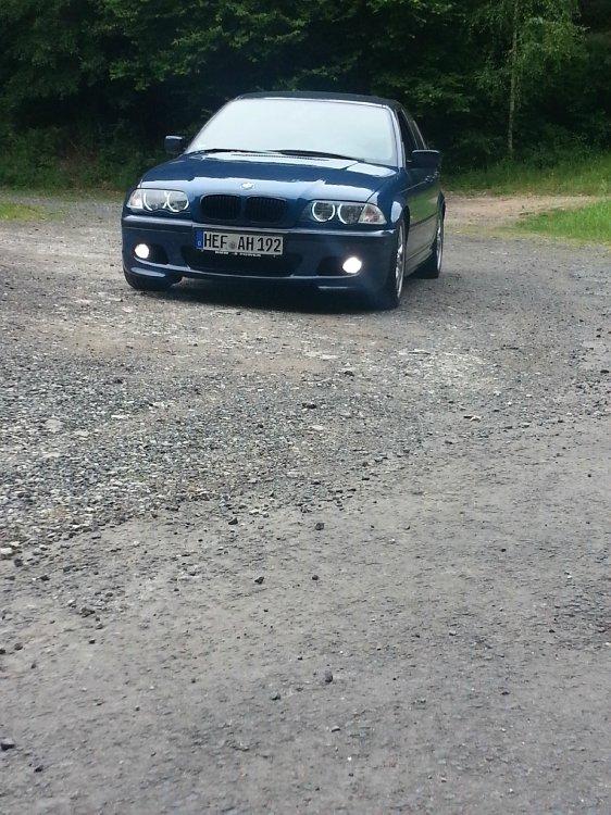 BMW E46 Topasblau - 3er BMW - E46