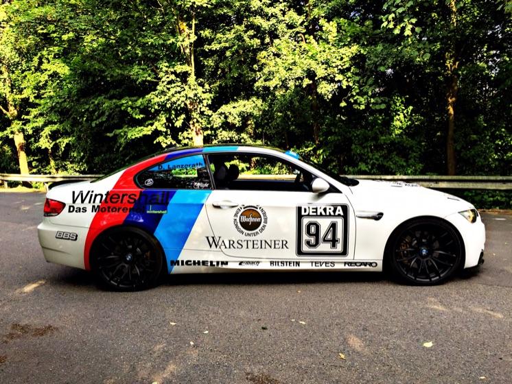 BMW M3 E92 Performance Warsteiner DTM Design 3er BMW