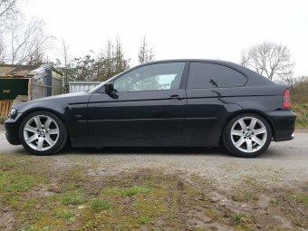 BMW Styling 44 Felge in 8x17 ET 47 mit Nexen  Reifen in 225/45/17 montiert hinten Hier auf einem 3er BMW E46 325ti (Compact) Details zum Fahrzeug / Besitzer