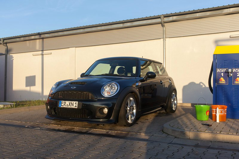 mini cooper s r56 fotostories weiterer bmw modelle. Black Bedroom Furniture Sets. Home Design Ideas