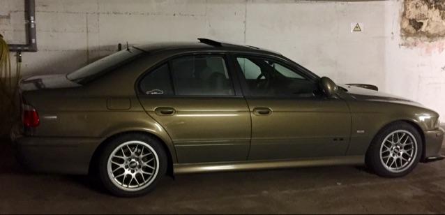 Löschen - 5er BMW - E39