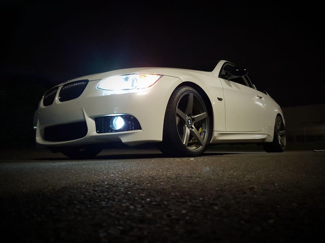 E92 VfL Oryxwhite Perlmutt - 3er BMW - E90 / E91 / E92 / E93